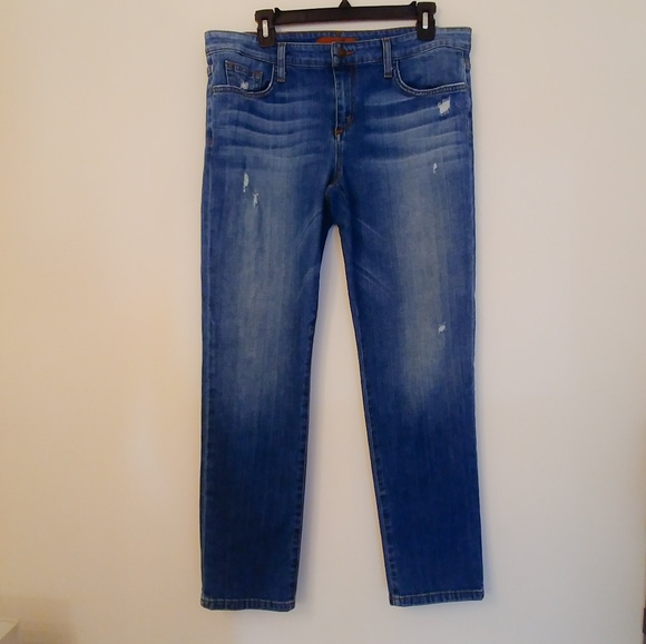 Joe's Jeans Denim - Joe's Jeans Easy High Water Crop Slight distressed